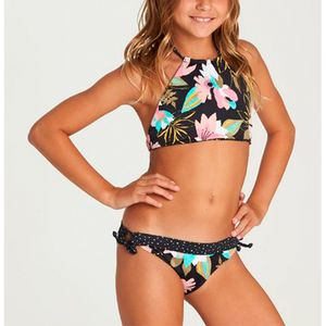 Bikini Niña Night Bloom Hi Neck